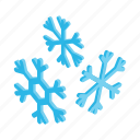 isometric, winter, season, snow, ice, snowflake, christmas