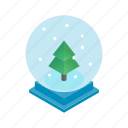 christmas, holiday, isometric, snow, snowflake, winter, xmas icon