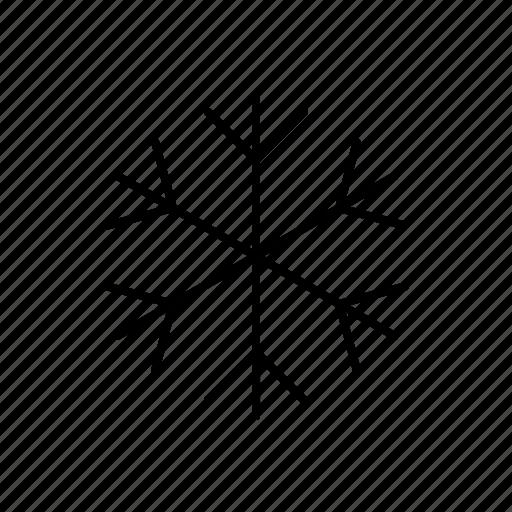 cold, cool, season, snowflake, winter icon