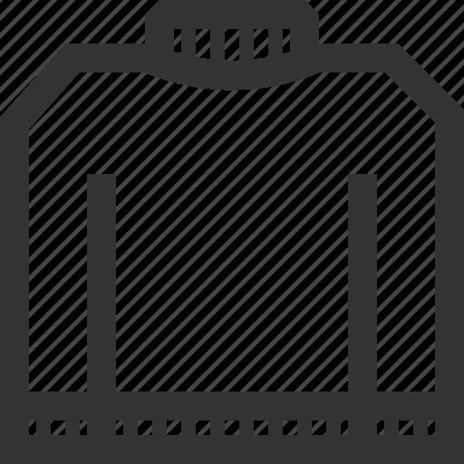 neck, pullover, sweater, turtle icon