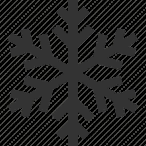 crystal, ice, snowflake, winter icon