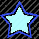 cold, holiday, season, star, winter icon