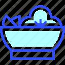 cold, holiday, salad, season, winter icon