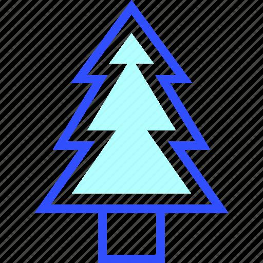 cold, holiday, pine, season, tree, winter icon