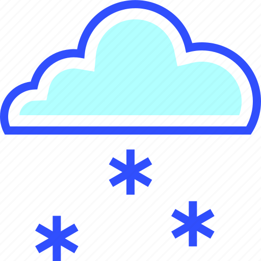 cold, holiday, season, snowing, winter icon