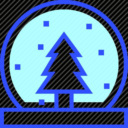 cold, globe, holiday, season, snow, winter icon