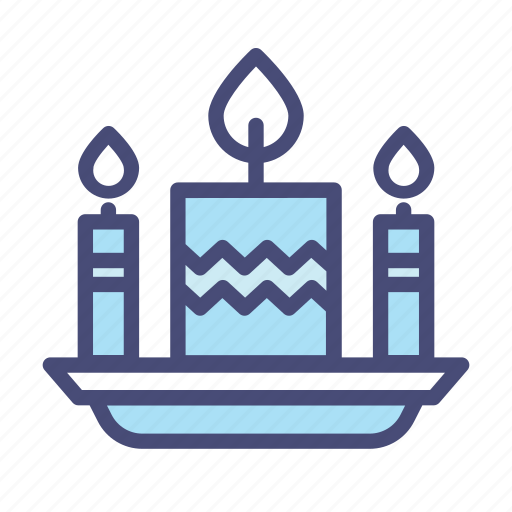 Birthday, candle, celebration, christmas, party, snow, winter icon - Download on Iconfinder