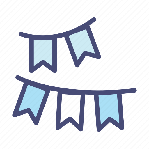 celebration, christmas, flag, holiday, party, snow, winter icon