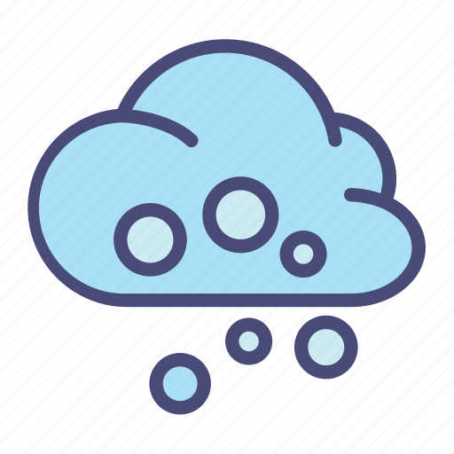 Christmas, cloud, forecast, snow, weather, winter icon - Download on Iconfinder