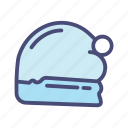 christmas, hat, holiday, snow, winter icon