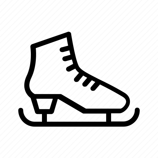 skating shoes, snow, snowboarding, sport, winter icon