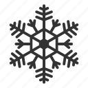 frozen, season, snow, snowfall, snowflake, weather, winter icon