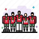game, group, hockey, people, players, sport, team icon