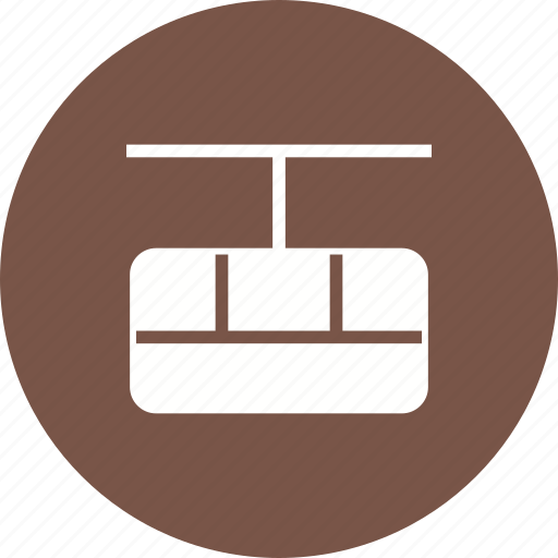cable, car, lift, mountain, sky, transportation, travel icon