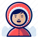 avatar, user, eskimo, woman, female