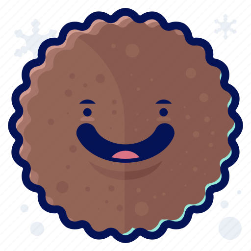Cookie, food, smiley, snack, winter icon - Download on Iconfinder