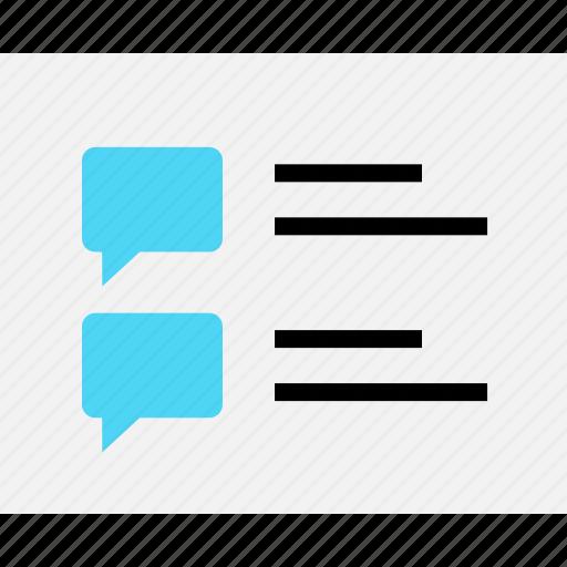 chat, conversation, data, design, save, wireframe icon