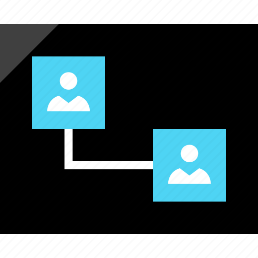communication, connect, connected, design, users, wireframe icon