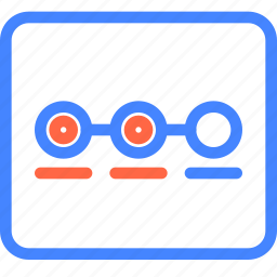 move, page, prototype, stage, wireframe icon