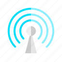 antenna, communication, network, signal, wifi, wireless icon