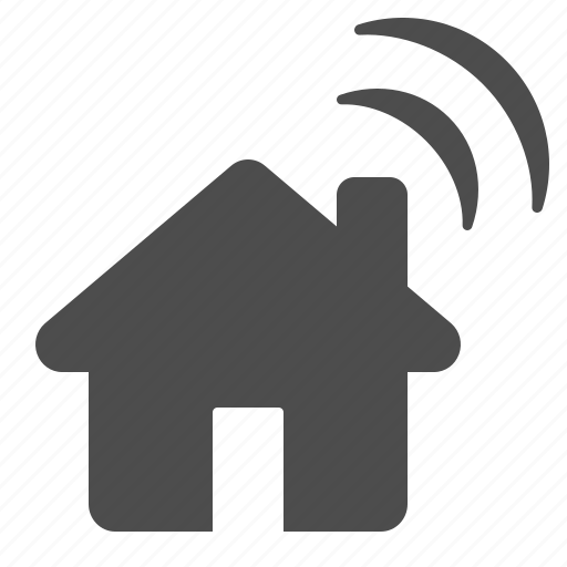home, house, wifi, wireless icon