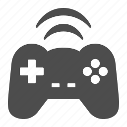 controller, game, gamepad, joystick, wifi, wireless icon