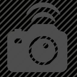 camera, photo, photography, wifi, wireless icon
