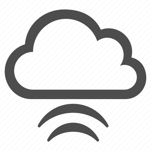cloud, cloud computing, storage, upload, wifi, wireless icon