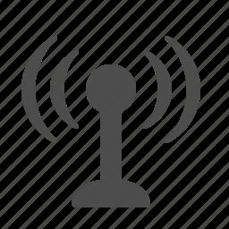 antenna, communication, tower, wifi, wireless icon