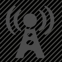 antenna, communication, technology, tower, wifi, wireless icon