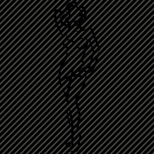 body, figure, sex, woman icon