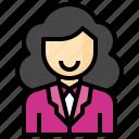 businesswoman, female, girl, avatar