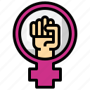 feminism, womens, day, women, sign, equality
