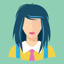 avatar, teenager, user icon