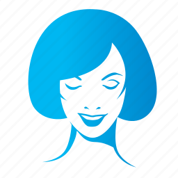avatar, chick, face, female, girl, lady, smile, woman icon