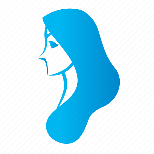 avatar, chick, face, female, girl, lady, profile, woman icon