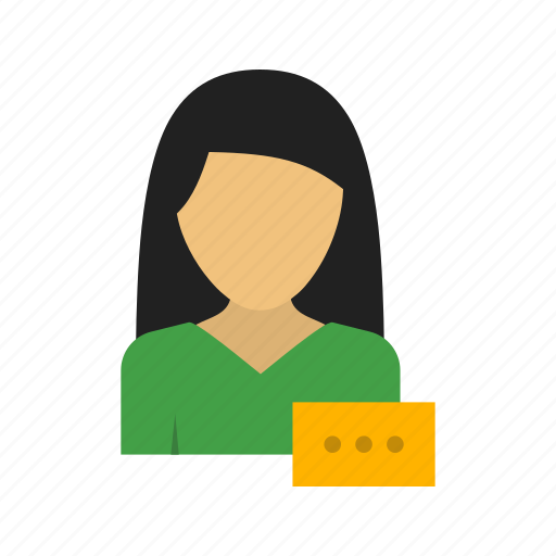 business, computer, laptop, mobile, office, typing, woman icon