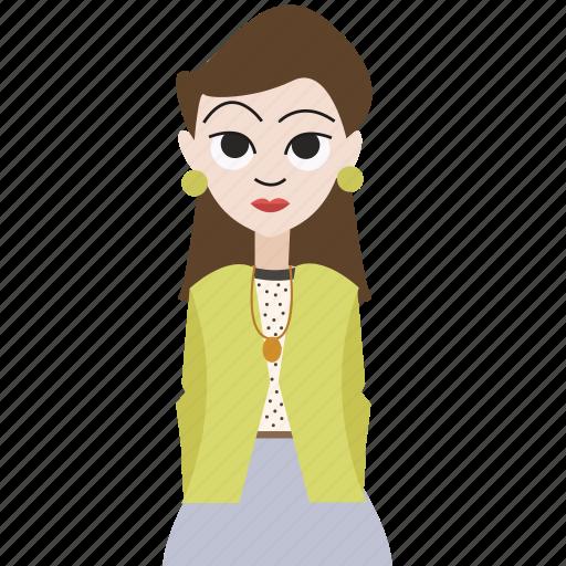 avatar, boss, female, girl, hipster, woman, women icon