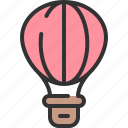 aerostat, air, ballon, travel, vehicle