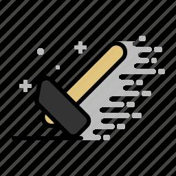 build, carpenter, claw hammer, hammer, repair, tools, wood icon