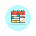 calendar, work, schedule, day, time, date, reminder, event