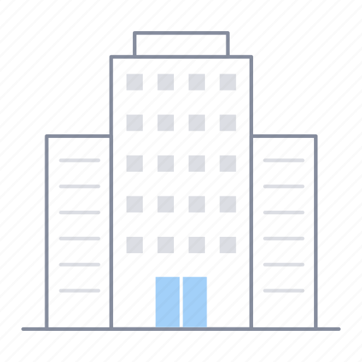 architecture, building, business, estate, office, property, work icon