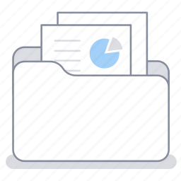 business, document, file, folder, office, paper, work icon
