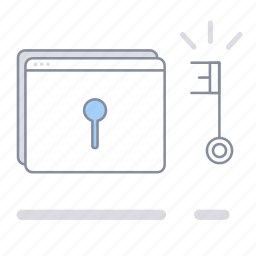 access, lock, login, password, protection, security, unlock icon