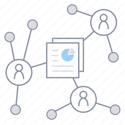 file, office, process, project management, share, team, work icon