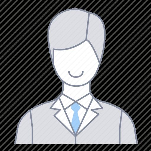 businessman, employee, investor, man, office, officer, salesperson icon