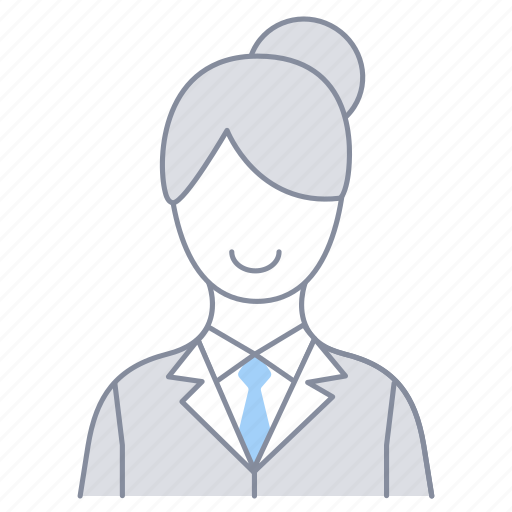 businesswoman, employee, female, girl, office, officer, woman icon