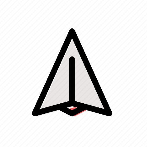 airplane, classroom, fly, oragame, paper, paper plane, plane icon