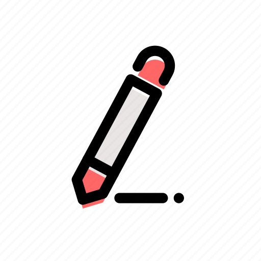 artist, coloring, draw, drawing, pencil, writing icon