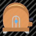 cooking, kitchen item, slice toaster, toast machine, toaster icon